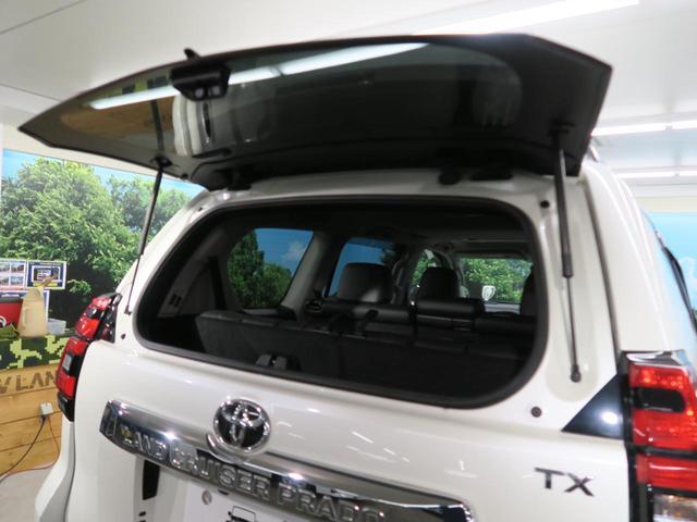 TX Lパッケージ 7人乗り ブラック内装 サンルーフ ルーフレール OP19インチAW 純正9インチSDナビ LEDヘッド レーダークルーズコントロール パワーシート シートベンチレーション 革巻きステアリング 禁煙車(25枚目)