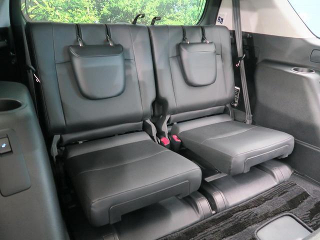 TX Lパッケージ 7人乗り ブラック内装 サンルーフ ルーフレール OP19インチAW 純正9インチSDナビ LEDヘッド レーダークルーズコントロール パワーシート シートベンチレーション 革巻きステアリング 禁煙車(46枚目)