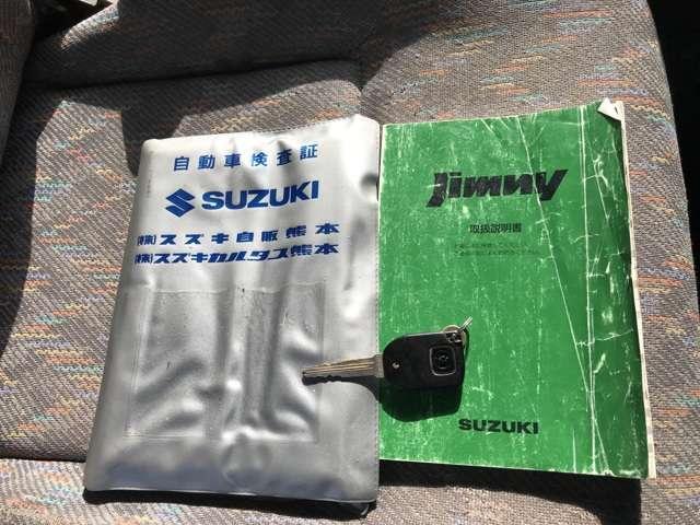 スズキ ジムニー XL タイミングチェーン車 キーレス アルミ