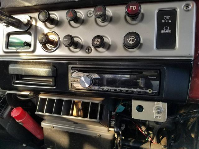 トヨタ ランドクルーザー40 パワステ エアコン ETC