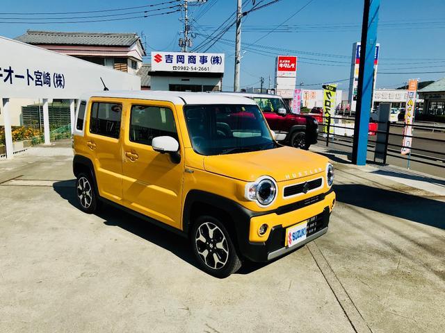 「スズキ」「ハスラー」「コンパクトカー」「宮崎県」の中古車7