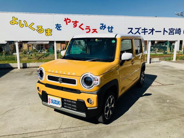 「スズキ」「ハスラー」「コンパクトカー」「宮崎県」の中古車9