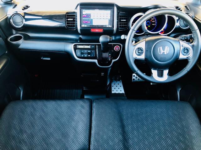 G・ターボパッケージ ターボ車 SDナビ 地デジTV バックカメラ Goo鑑定車 両側電動スライドドア ETC Bluetooth 15インチアルミ 新品タイヤ4本 HIDヘッドライト スマートキー アイドリングストップ(3枚目)