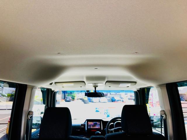 G・ターボパッケージ ワンオーナー ターボ車 新品SDナビ 地デジTV バックカメラ Bluetooth ドラレコ前後 両側電動スライド ETC オートクルーズ 純正エアロ 15インチアルミ HIDライト スマートキー(22枚目)