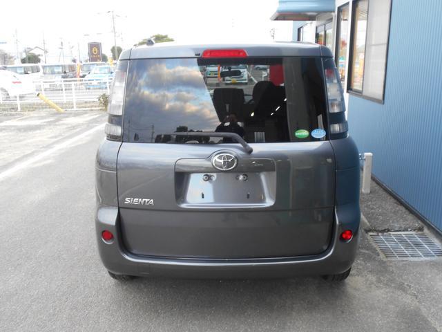 トヨタ シエンタ X Lパッケージ 純正SDナビ地デジ CD ETC 保証書