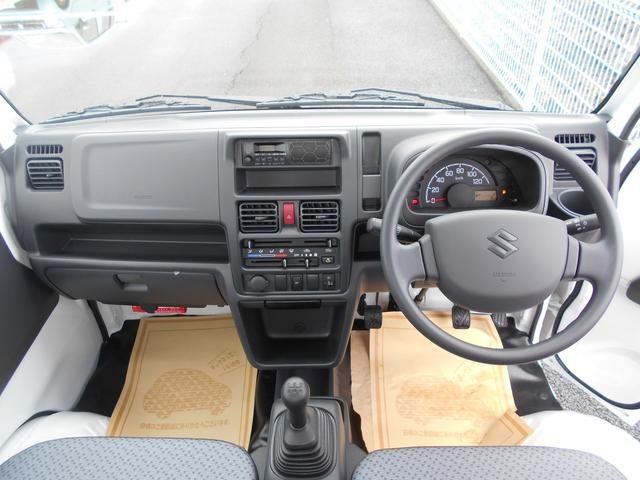 KCエアコン・パワステ 純正AMFM・4WD・禁煙車・保証書(10枚目)