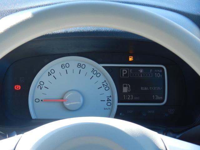 見やすいスピードメーターになっております!