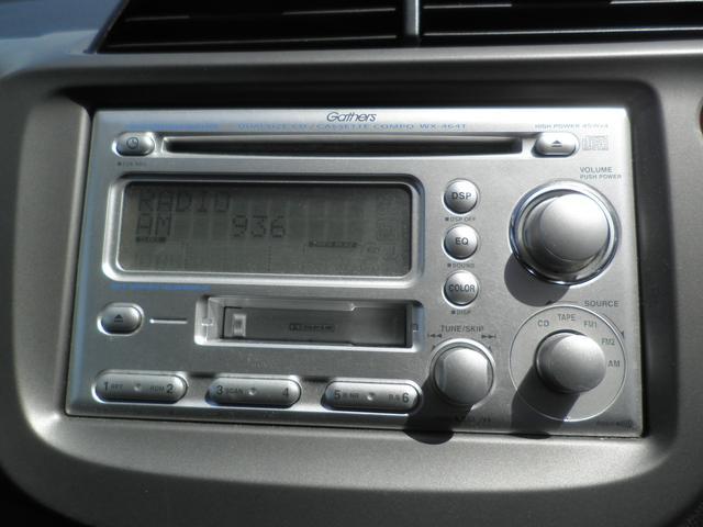 ホンダ フィット G-Fパッケージ キーレス 純正CD 保証書