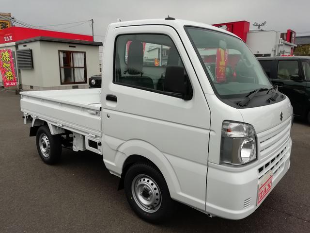 KCエアコン・パワステ・4WD・届出済未使用車・禁煙車(7枚目)
