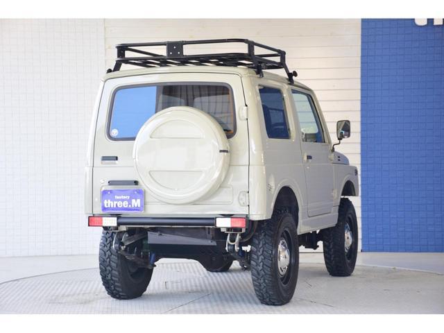 ランドベンチャー three.Mオリジナルカスタム 1型グリル IPFヘッドライト ナックルオーバーホール済 純正カスタムルーフラック DEENホイール タニグチステップ LEDテール新品 革調シートカバー(10枚目)