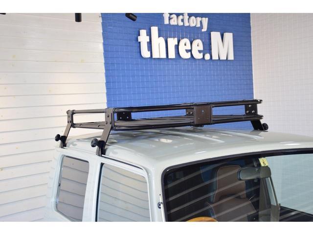 ランドベンチャー three.Mオリジナルカスタム 1型グリル IPFヘッドライト ナックルオーバーホール済 純正カスタムルーフラック DEENホイール タニグチステップ LEDテール新品 革調シートカバー(16枚目)