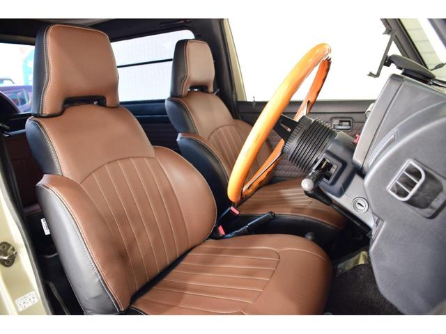 ランドベンチャー three.Mオリジナルカスタム 1型グリル IPFヘッドライト ナックルオーバーホール済 純正カスタムルーフラック DEENホイール タニグチステップ LEDテール新品 革調シートカバー(42枚目)