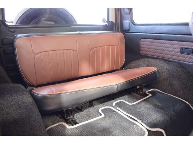 ランドベンチャー three.Mオリジナルカスタム 1型グリル IPFヘッドライト ナックルオーバーホール済 純正カスタムルーフラック DEENホイール タニグチステップ LEDテール新品 革調シートカバー(44枚目)