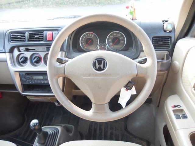 ホンダ バモス M 13インチAW 5速マニュアル車