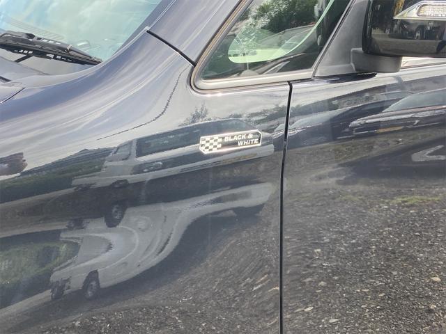 ブラック&ホワイト 両側電動スライドドア Sキー Bカメ オートライト キセノンライト DVD シートH エンジンプッシュスタート(17枚目)