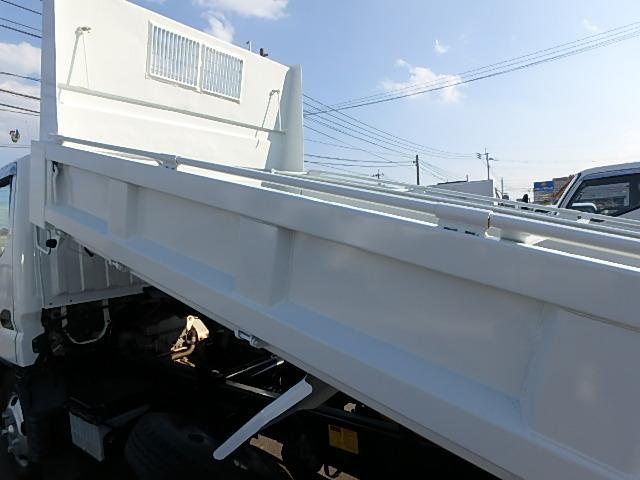 三菱ふそう キャンター 高床 ダンプ 2t 5速ミッション車 エアバッグ付き