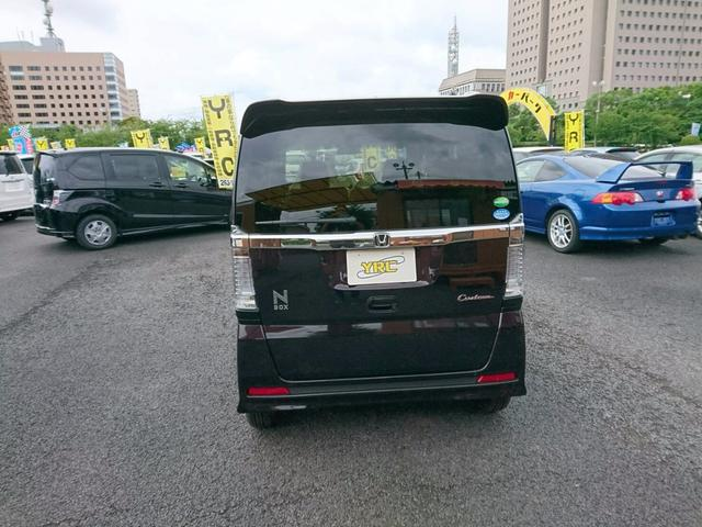 ホンダ N BOXカスタム 登録済未使用車 地デジナビ バックカメラ