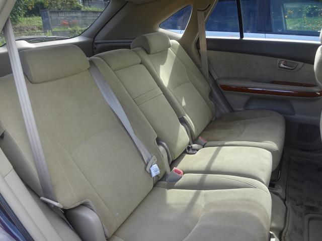 トヨタ ハリアー 240G アルカンターラバージョン 4WD ナビ ウーファー