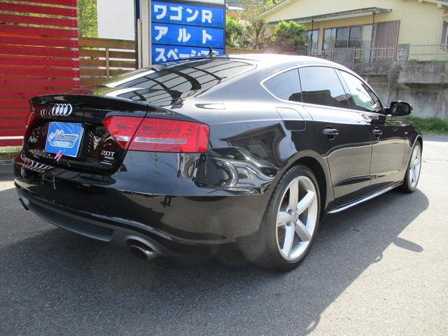 「アウディ」「A5スポーツバック」「セダン」「鹿児島県」の中古車4