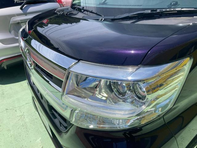カスタムRS SA 純正8インチナビ 両側パワースライドドア LEDヘッドライト バックモニター キーフリー プッシュスタート ETC 純正15インチアルミ ターボ車(17枚目)