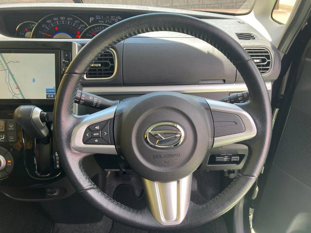 カスタムRS SA 純正8インチナビ 両側パワースライドドア LEDヘッドライト バックモニター キーフリー プッシュスタート ETC 純正15インチアルミ ターボ車(32枚目)