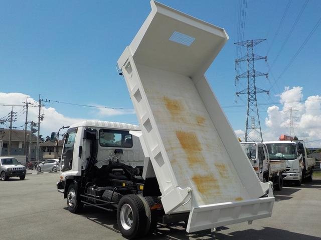 4tダンプ6速MT3ペダル 積載量3900kg 新明和(11枚目)