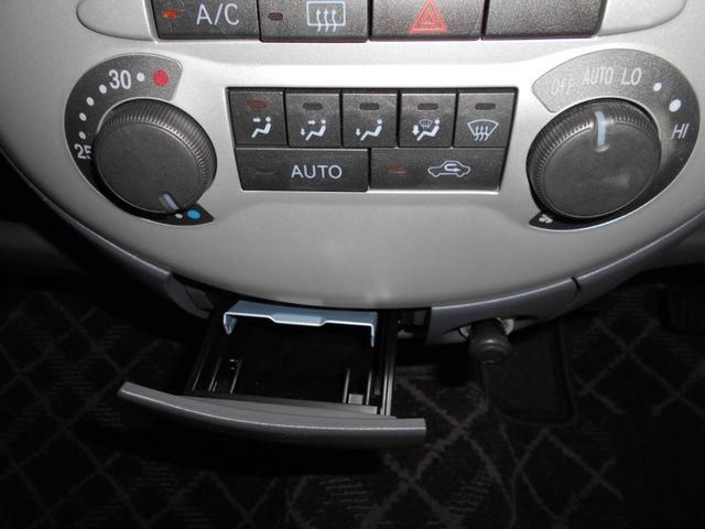 エアコンはオートエアコンで快適ドライブ、禁煙車です