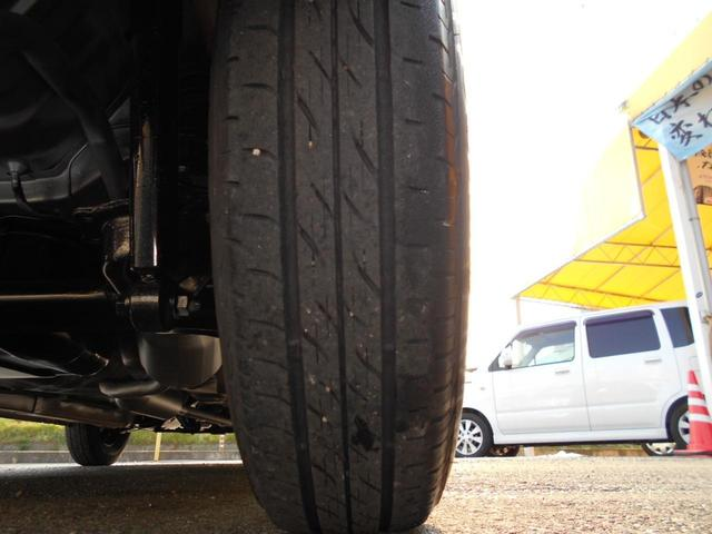 左後タイヤです