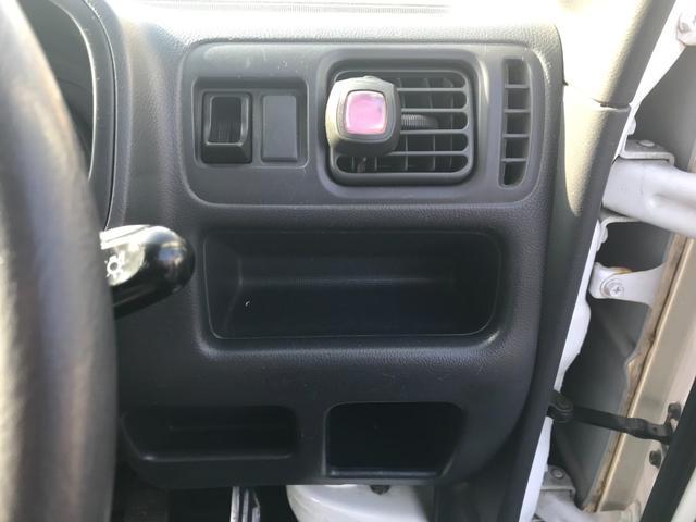 KCエアコン・パワステ 2WD 5速マニュアル車 エアコン パワステ 三方開(22枚目)