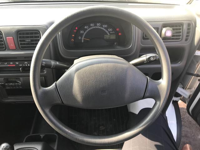 KCエアコン・パワステ 2WD 5速マニュアル車 エアコン パワステ 三方開(24枚目)