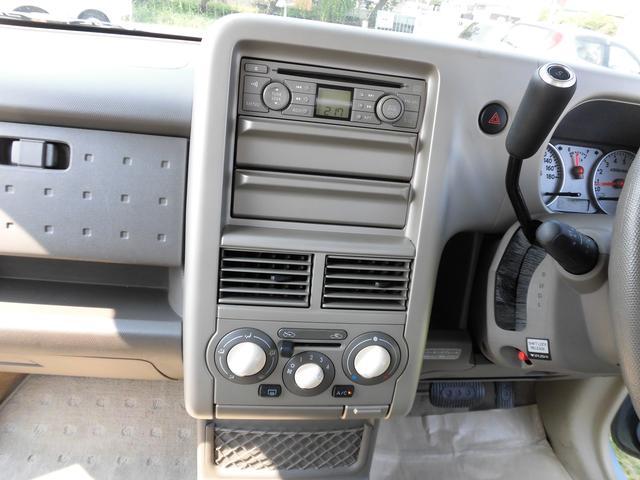 日産 キューブ 15MコラムAT ベンチシート CD Wエアバッグ フル装備