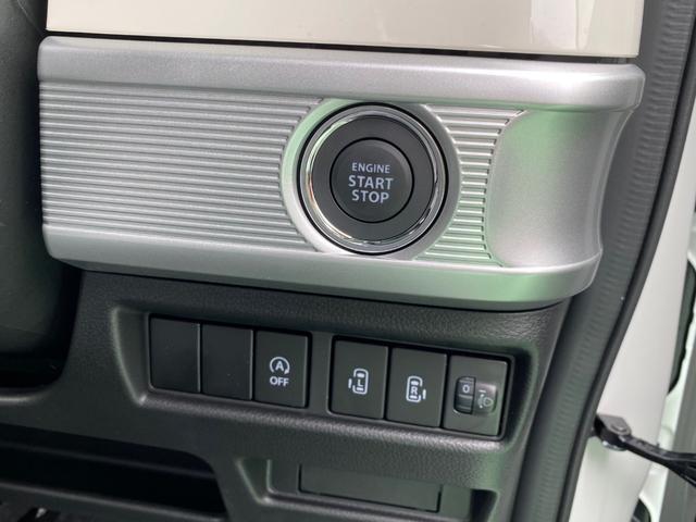 ハイブリッドX 両側電動スライドドア プッシュスタート シートヒーター USB 届出済未使用車(9枚目)