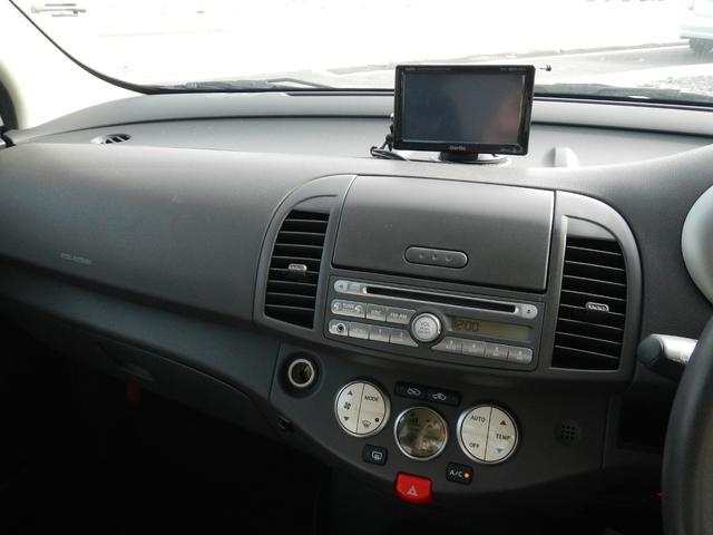 日産 マーチ 15G インテリキー ETC ワンセグTV