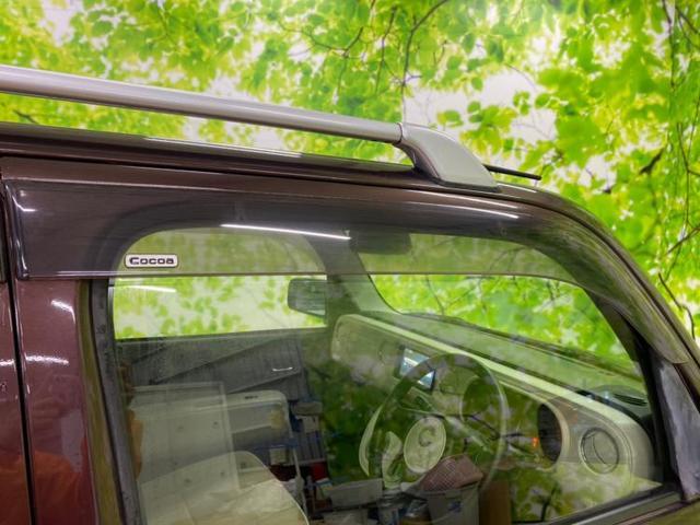 ココアプラスG 純正 7インチ メモリーナビ/パーキングアシスト バックガイド/EBD付ABS/バックモニター/TV/ルーフレール/エアバッグ 運転席/エアバッグ 助手席/パワーウインドウ バックカメラ 禁煙車(18枚目)