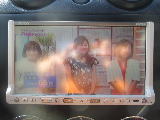 アクティブトップ フル装備 社外SDナビ ワンセグTV(11枚目)