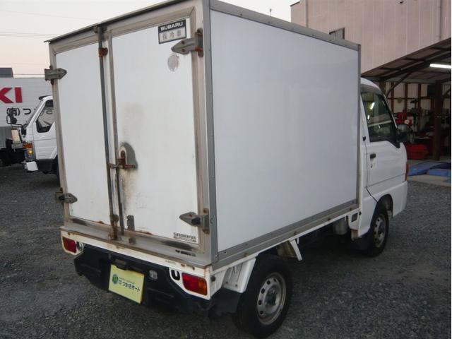 4WD保冷車(4枚目)