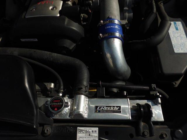 VR25 純正5速ターボ 18アルミ 車高調 社外マフラー(17枚目)