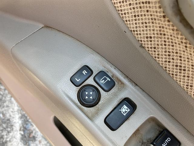 X 片側電動スライドドア スマートキー プッシュスターター CDデッキ オートエアコン 電動格納ドアミラー ベンチシート 14インチアルミ タイミングチェーン(27枚目)