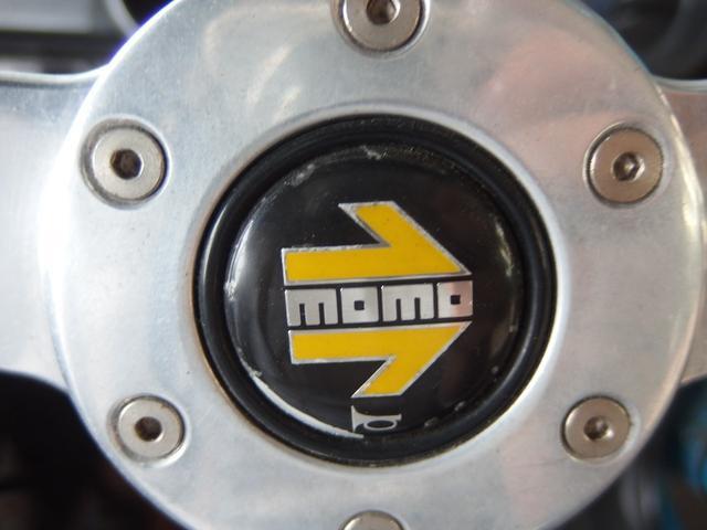 ガレージ保管車 CD MOMOステアリング マニュアル車(18枚目)