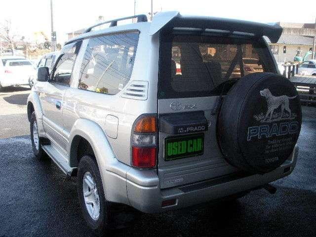 トヨタ ランドクルーザープラド RX ディーゼルターボ 4WD 5速MT車