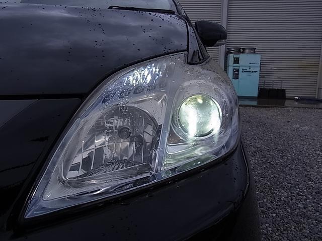 社外LED ヘッドライト!夜道でも明るい!