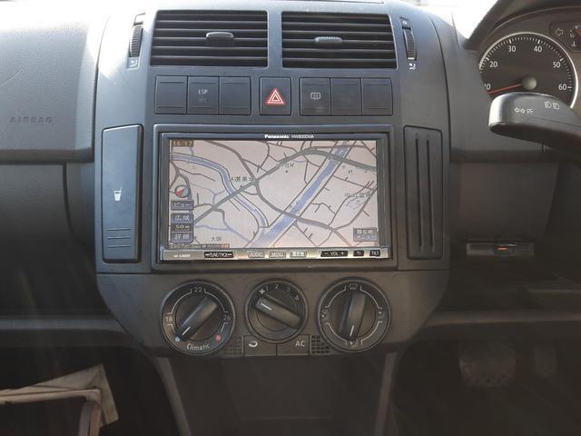 フォルクスワーゲン VW ポロ 1.6 スポーツライン ナビ キーレス