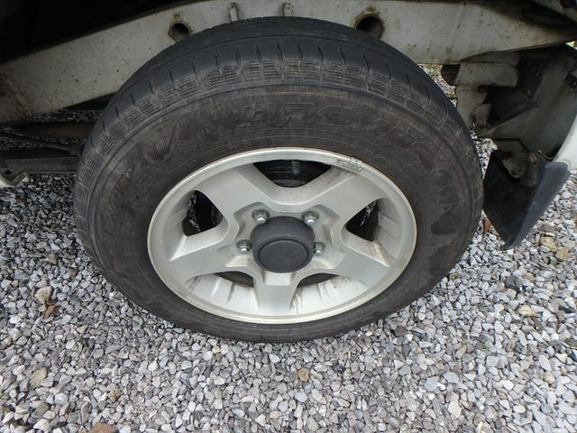 XC ターボ車 4WD CD アルミ 背面タイヤ(9枚目)