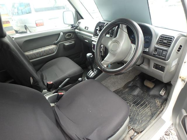 XC ターボ車 4WD CD アルミ 背面タイヤ(13枚目)