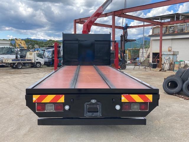 重機運搬車 最大積載量10000kg ユニック製5段クレーン フックイン ラジコン付き ハイジャッキ NOx・PM適合車(20枚目)