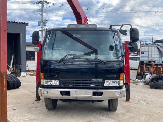 重機運搬車 最大積載量10000kg ユニック製5段クレーン フックイン ラジコン付き ハイジャッキ NOx・PM適合車(23枚目)