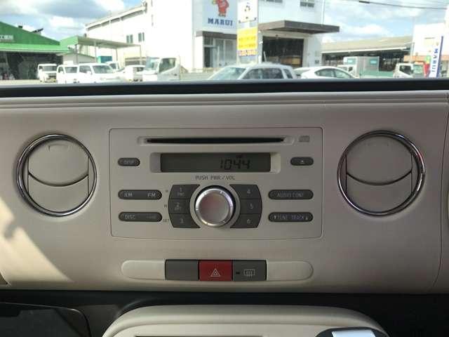 ★純正オーディオでCD・ラジオがご利用いただけます。ドライブのお供にぴったり♪