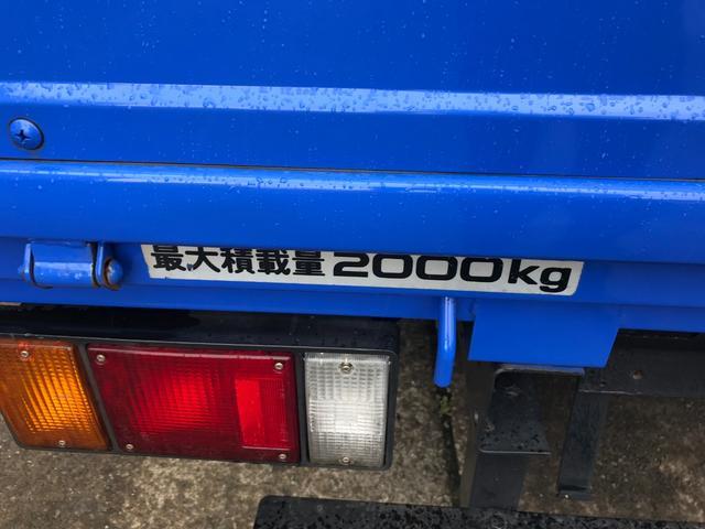 2t フルフラットロー ディーゼルターボ 5速マニュアル車(10枚目)