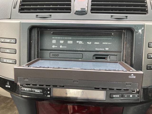 250G HDDナビ 純正アルミホイール オートライト パワーシート エンジンプッシュスタート スマートキー 車検整備付き(13枚目)
