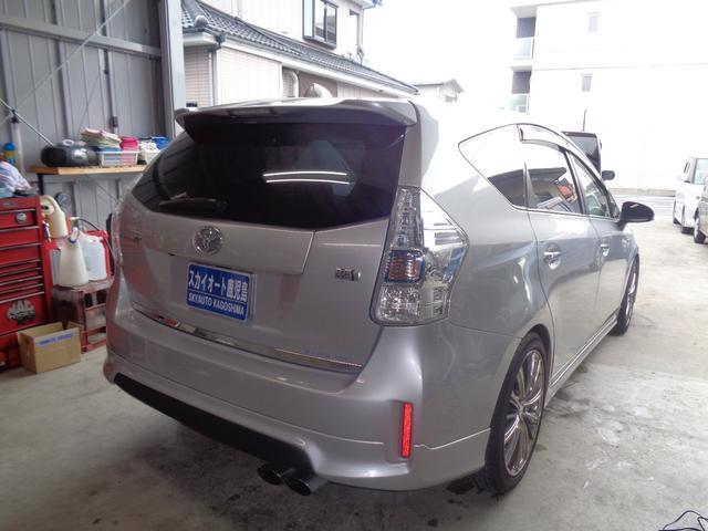 S Fグレンツェンエアロ S.Rモデリスタ ナビ フルセグTV Bluetooth レグザス18AW モデリスタマフラー ETC LEDヘッドランプ タナベ車高調 シートカバー(4枚目)